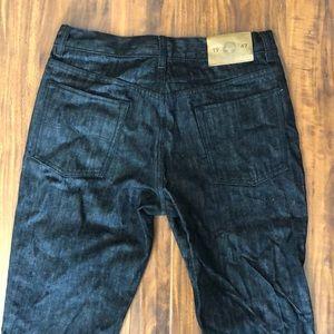 Lrg Jeans - LRG Men's Raw Denim, True Taper Jeans